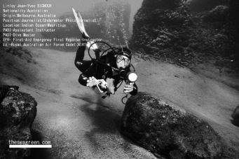 Jean-Yves Bignoux /Underwater Photographer /Oceanic Research /Scuba Instructor