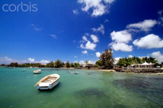 The sun-drenched island of Mauritius