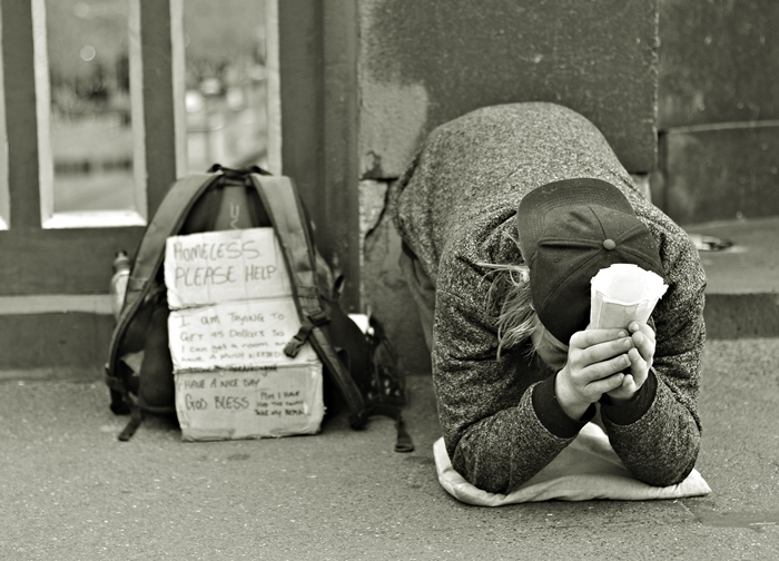 I am only human..Documenting and photographing Melbourne's homeless.Australia